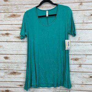 LuLaRoe Perfect T XS Turquoise/Aqua NWT